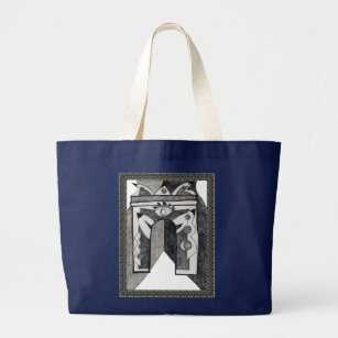 Arc de Triomphe Large Tote Bag