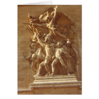 """Arc de Triomphe, Paris"" Card"