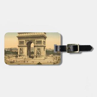 Arc de Triomphe, Paris, France Luggage Tag