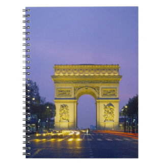 Arc de Triomphe, Paris, France, Notebooks
