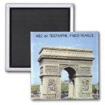 ARC de TRIOMPHE, PARIS FRANCE Refrigerator Magnets