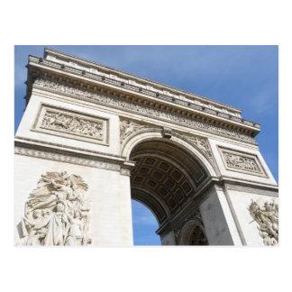 Arc de Triomphe Paris Postcard