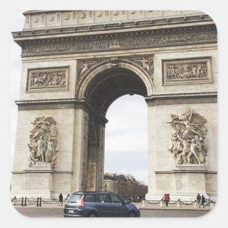 Arc de Triomphe, Paris Square Sticker