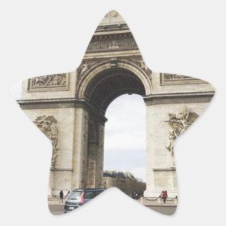 Arc de Triomphe, Paris Star Sticker