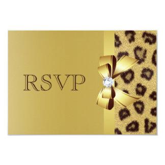 Arc, diamant et empreinte de léopard imprimés RSVP Bristol