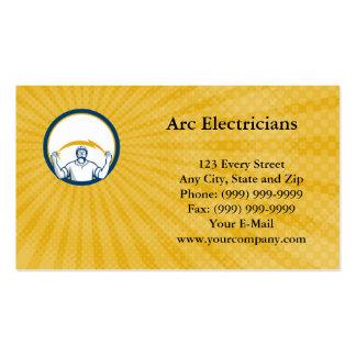 Arc Electricians Business Card
