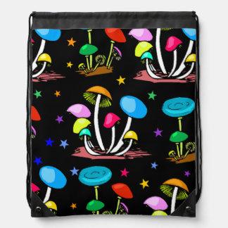 Arc-en-ciel des champignons sacs à dos