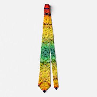 Arc-en-ciel élégant cravate