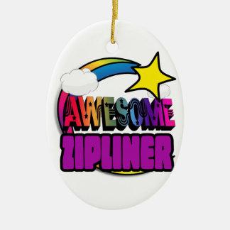 Arc-en-ciel Zipliner impressionnant d'étoile Décorations De Noël