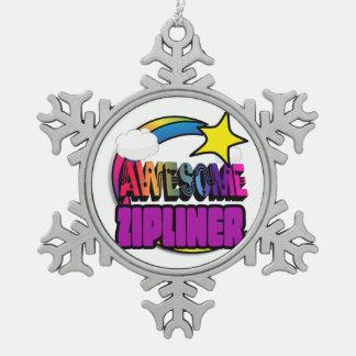 Arc-en-ciel Zipliner impressionnant d'étoile Ornement