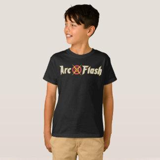Arc Flash Black T-Shirt