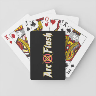 Arc Flash Playing Cards