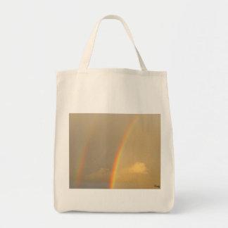 Arc in sky tote bag