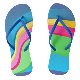 Arc Iris Flip Flops