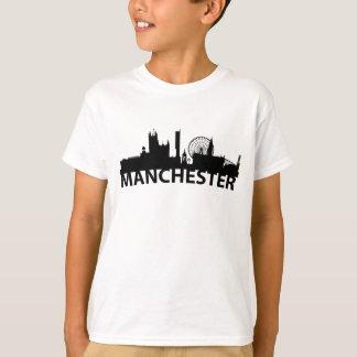 Arc Skyline Of Manchester England T-Shirt