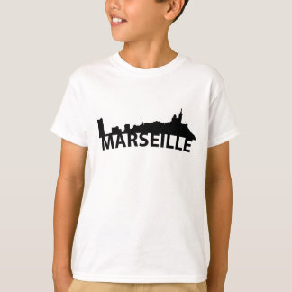 Arc Skyline Of Marseille France T-Shirt
