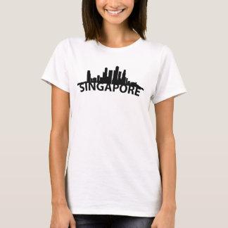 Arc Skyline Of Singapore T-Shirt