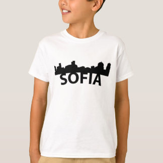 Arc Skyline Of Sofia Bulgaria T-Shirt