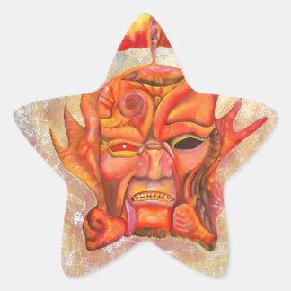 arc star sticker