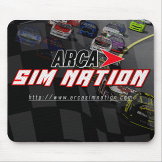 Arca Sim Nation Original horizontal mousepad
