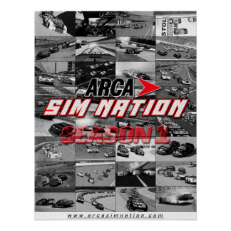 Arca Sim Nation Season 1 Collage Poster