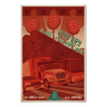 Arcade game propaganda poster- third in a series poster