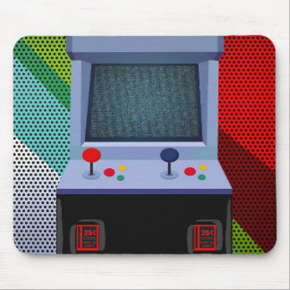 Arcade Video Game Joystick Personalized Bedroom Mouse Pad