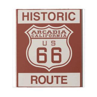 ARCADIA66 NOTEPAD