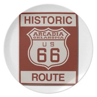 ARCADIA66ok Plate