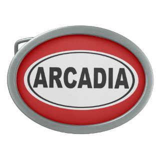 Arcadia California Belt Buckles