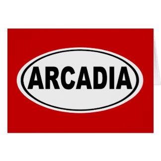 Arcadia California Card