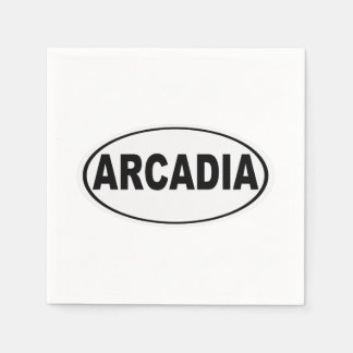 Arcadia California Disposable Napkins