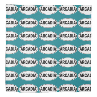 Arcadia California Duvet Cover