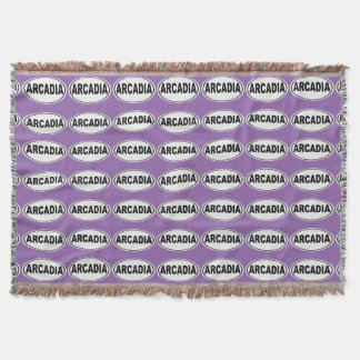Arcadia California Throw Blanket