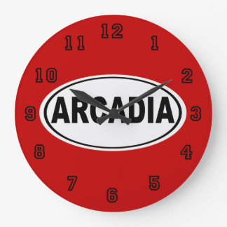Arcadia California Wallclock