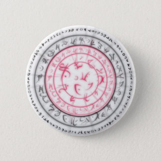 Arcane Mystic Shapes 2 Inch Round Button