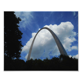 Arch and Blue Skies Art Photo