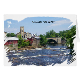 Arch Bridge , Keeseville, NY 12944 Card
