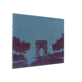 Arch de Triumph Paris Gallery Wrap Canvas