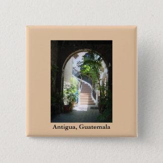 Arch in Antigua 2 Inch Square Button