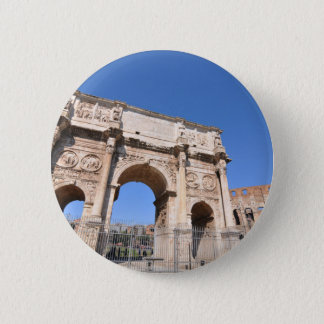 Arch in Rome, Italy 2 Inch Round Button