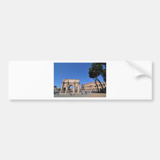 Arch in Rome, Italy Bumper Sticker