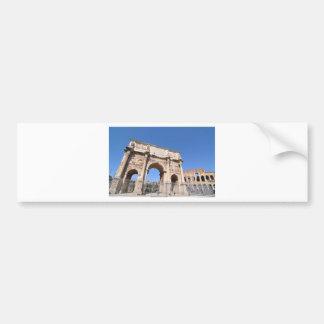 Arch in Rome, Italy Bumper Sticker