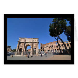 Arch in Rome, Italy Card