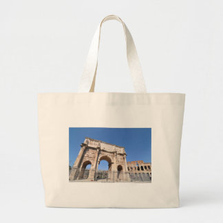 Arch in Rome, Italy Large Tote Bag