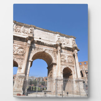 Arch in Rome, Italy Plaque