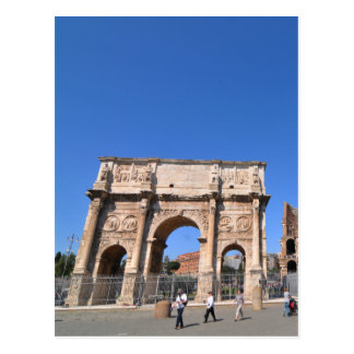 Arch in Rome, Italy Postcard