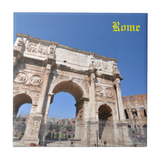 Arch in Rome, Italy Tile