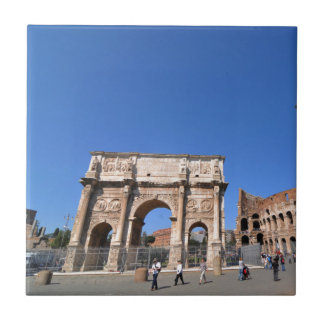 Arch in Rome, Italy Tiles