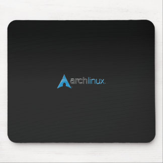 Arch Linux black Mouse Pad